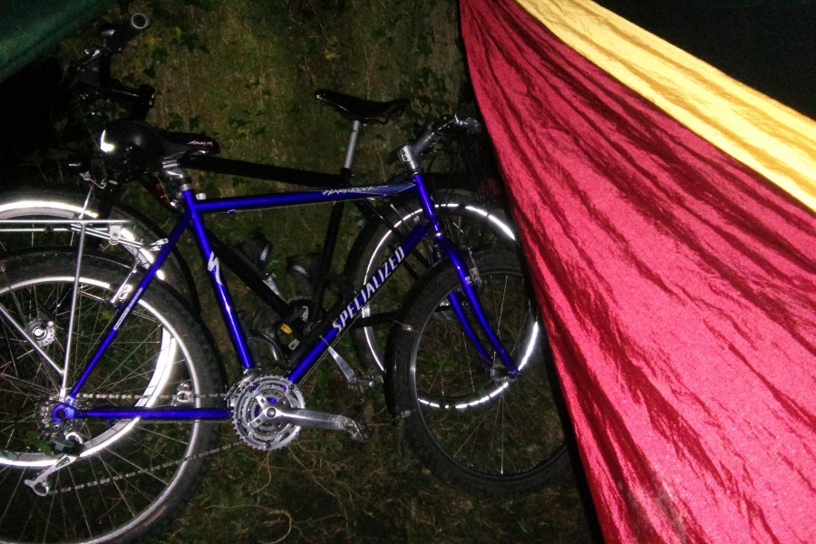 Bikes and Hammock